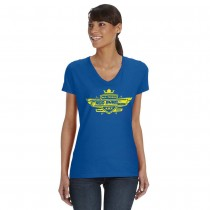 Ladies V-Neck AMF Tee