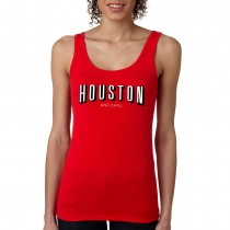 Women's Houston and Chill Tank - Red