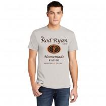 Mens Homemade Radio Shirt - Light Grey