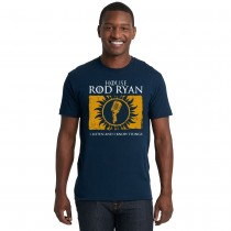 Unisex House Rod Ryan Crew Tee - Midnight Navy