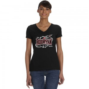 Ladies V-Neck Rocket Tee