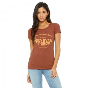 Women's Vintage Radio Tee - Clay Triblend