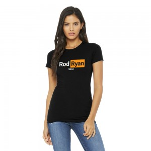 Ladies video site shirt - Black