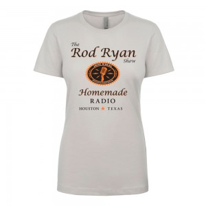 Ladies Homemade Radio Shirt - Silver (SLIM FIT)