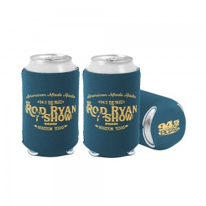 American Made Radio Koozie - Black